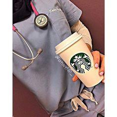 Scrubs And Uniforms (@scrubsnuniforms) on Instagram:    My favorite @Starbucks #beverage is a grande latte + 2 pumps of hazelnut + whip cream + #butterscotch sugar topping! ☕️☕️    # #ScrubsAndUniforms #Health #Healthcare #hospital #hospitality #littmann #littmannstethoscope #littmannclassic #stethoscope #stethoscopes #3m #RN #Medical #OOTD #NYC #RegisteredNurse #RegisteredNurses