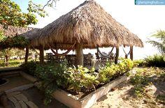 Eco Surf lodge Managua   Beach cabanas bungalows Nicaragua   beach