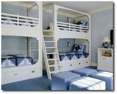 Sharing A Bedroom- Kids Room Decorating Ideas