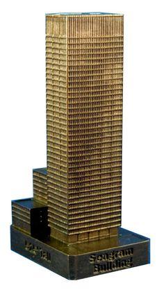 Maqueta Seagram Building