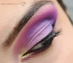 i love this look because it is purple!!!!