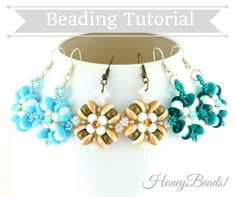 PDF-file Beading Pattern Angel's Amore Earrings PDF-file Beading Tutorial by Beaded Earrings Patterns, Bead Earrings, Beading Patterns, Blue Acrylic Nails, Diy Crafts Jewelry, Earring Tutorial, Paper Hearts, Beading Tutorials, Bead Weaving