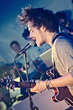 Milky Chance. He's so passionate when he performs and you can we it in his voice too.