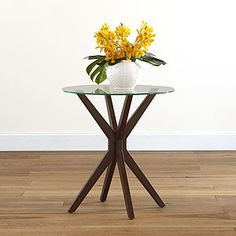 I love this little table...