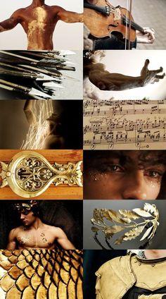 Greek Myths - Apollo Poseidon/ Hermes/ Pan/ Dionysus/ Ares/ Hades/ Zeus Goddess Series