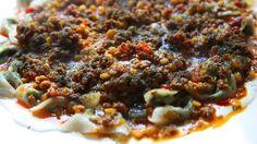 Afghan dumplings with beef sauce and garlic yoghurt (ashak) recipe : SBS Food