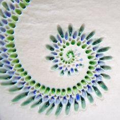 Mairi Stone ~ Porcelain 'swirl'