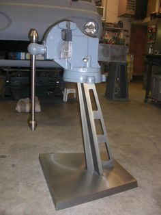 Vise stand-- way cool!  Could be used for grinder stand, etc.
