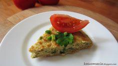 Omlet z kaszy jaglanej