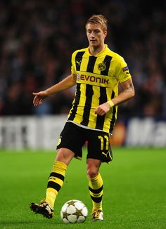 Marco Reus - Rot Weiss Ahlen, Borussia Mönchengladbach, Borussia Dortmund, Germany.