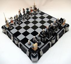Awesomely Geeky LEGO #StarWars Chess Sets