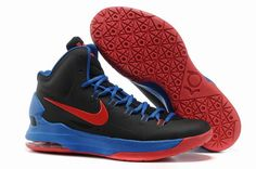 online store 3e7b4 8fc3a GS Black Photo Blue Red Nike Zoom KD V 554988 064 Kevin Durant Shoes 2013  Top