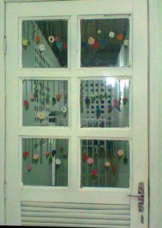 Enfeite de porta interna. Autora : Maisa
