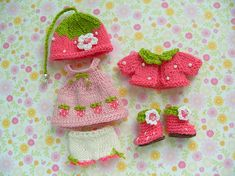 Irresistible Crochet a Doll Ideas. Radiant Crochet a Doll Ideas. Knitting Dolls Clothes, Baby Doll Clothes, Crochet Doll Clothes, Knitted Dolls, Doll Clothes Patterns, Crochet Dolls, Doll Patterns, Crochet Patterns, Barbie Bebe