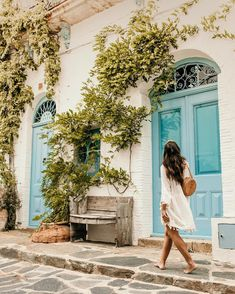 Cadaqués with Sabrina Diaries, and Fashion Blogger Style, Travel Around The World, Around The Worlds, Little White, Adventure Travel, The Dreamers, Travel Photos, Greece, Paradise