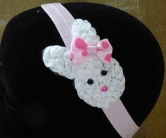 Hey, I found this really awesome Etsy listing at https://www.etsy.com/listing/173892752/easter-bunny-headband-baby-infant