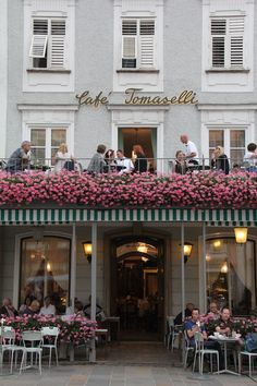 Café Tomaselli | Salzburg, Austria. Loved the Mozart Festival and city... the hills were truly alive with the Sound of Music!