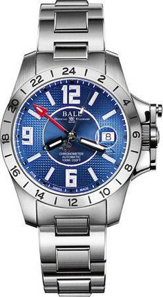 BALL Eng Hydrocarb Magnate GMT COSC Watch