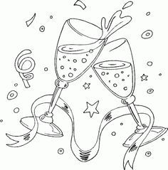 Cute Baby New Year And Father Time Waiting Countdown On 2015 New Year Coloring Page New Year Coloring Pages, Online Coloring Pages, Christmas Coloring Pages, Colouring Pages, Printable Coloring Pages, Coloring Pages For Kids, Coloring Sheets, Coloring Books, New Year's Eve Wishes