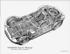 Part 3: Shin Yoshikawa's Cutaway Drawings and Book | Car Build Index