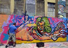 Fumero paints @ 5Pointz