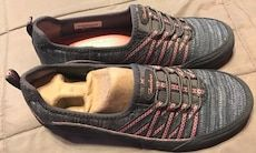 78e9a6fc479f4 Used Brand new Sketchers women s size 6 shoes no tie GREY Pink for sale in  The Colony