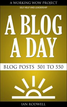 My book of Blog Posts called A Blog a Day, blog post numbers 501 to 550 is still a...