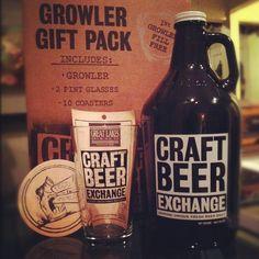 "Growlers www.LiquorList.com ""The Marketplace for Adults with Taste!"" @LiquorListcom   #LiquorList.com"