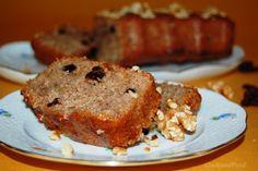 Syrupy Walnut Cake