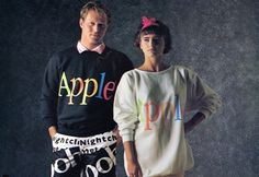 what the?!??  Apple's Insanely Great 1986 Clothing Line