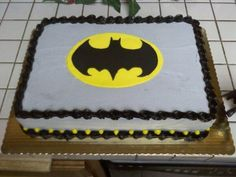 Batman Cake | Batman Cake Top View.jpg provided by Sumthin' Sweet Creations Palmdale ...