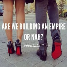 Are we building an empire or nah? Motivacional Quotes, Babe Quotes, Queen Quotes, Woman Quotes, Qoutes, Diva Quotes, Soul Quotes, Girly Quotes, Sarcastic Quotes