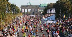 Berlin Marathon - 30 September 2012. One of the world marathon majors