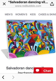 Computer skin, Salvadoran art, Colorful art, 😭😭