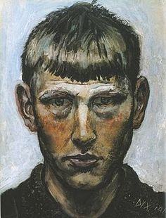 """There is much chaos in me, much chaos in our time."" - Otto Dix"