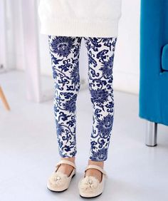 1PCS NEW Kids Stretch Skinny Leggings Pants Printed Girls Trousers 3 7 Years Free Shipping-in Pants from Apparel & Accessories on Aliexpress.com