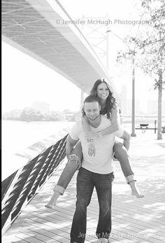 Engagement photo casual by Jennifer Mchugh Photography