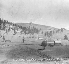 General landscape Battle mt. from Victor, Colo. :: Western History