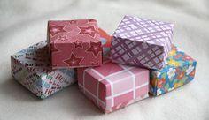 Tuto boite origami (pour l'avent ?)