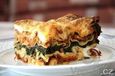 Recept na výborné bezmasé zeleninové lasagne s bešamelovou omáčkou.