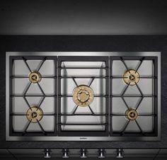 Gaggenau Gas Cooktop #appliances #gaggenau #kitchen Pinned by www.modlar.com