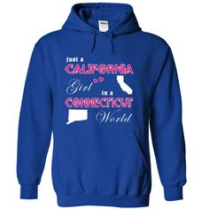 Best gift - Just a California Girl in a Connecticut World V1 T-shirt/mug BLACK/NAVY/PINK/WHITE M/L/XL/XXL/3XL/4XL/5XL