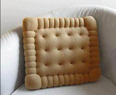 cuscino biscotto