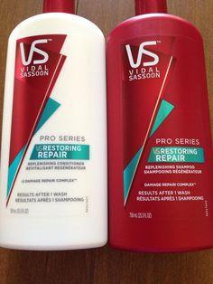 Vidal Sassoon Restoring Repair Shampoo