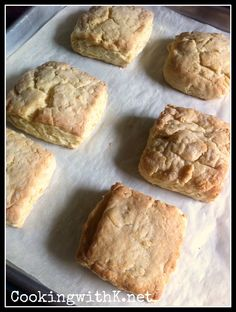 Cooking with K: Cream Cheese Biscuits