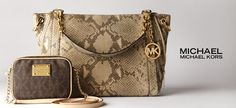 MICHAEL Michael Kors  Have you picked out your new fall handbag yet? Don't wait another second. Here, we bring you a selection of current handbag and wallet styles from the coveted MICHAEL Michael Kors collection. Featuring satchels, totes and more in logoed, striped and smooth leather styles, your perfect bag is in t...  http://fancyten.com/michael-michael-kors/456 #fancyten