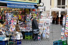 Newspaper stand by Ed Yourdon, via Flickr