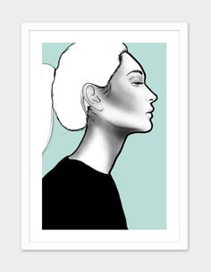 """""""G I R L S 01"""", Numbered Edition Fine Art Print by LEEMO - From $25.00 - Curioos"""