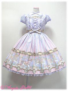 Angelic Pretty Day Dream Carnival Dress- carousel, candy store loli