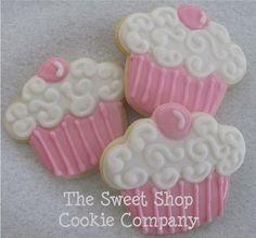 Sweet Cupcake cookies